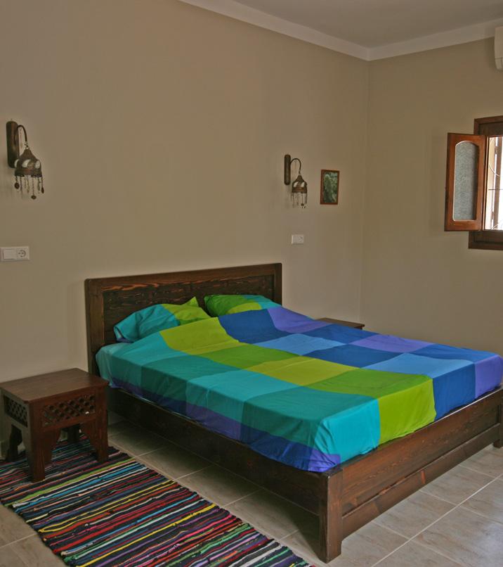 HolidayHouseDahab.com - Sinai Sun Villa Dahab master bedroom